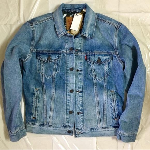 43a5c69bffeff Levi's Jackets & Coats | New Mens Levis Trucker Jean Jacket Us M ...